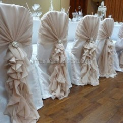 Ruffle Chair Sashes Swing Lazada Malaysia Fancy Organza Curly Willow Cover Sash Ruffled Wedding Covers Hood