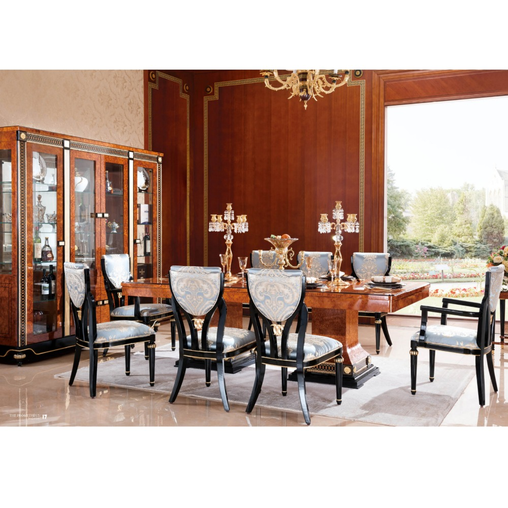 Yb69 Royal Luxury Classical Wooden Dining Room Furniture Set European Style Table With 10 Chairs Buy Classic