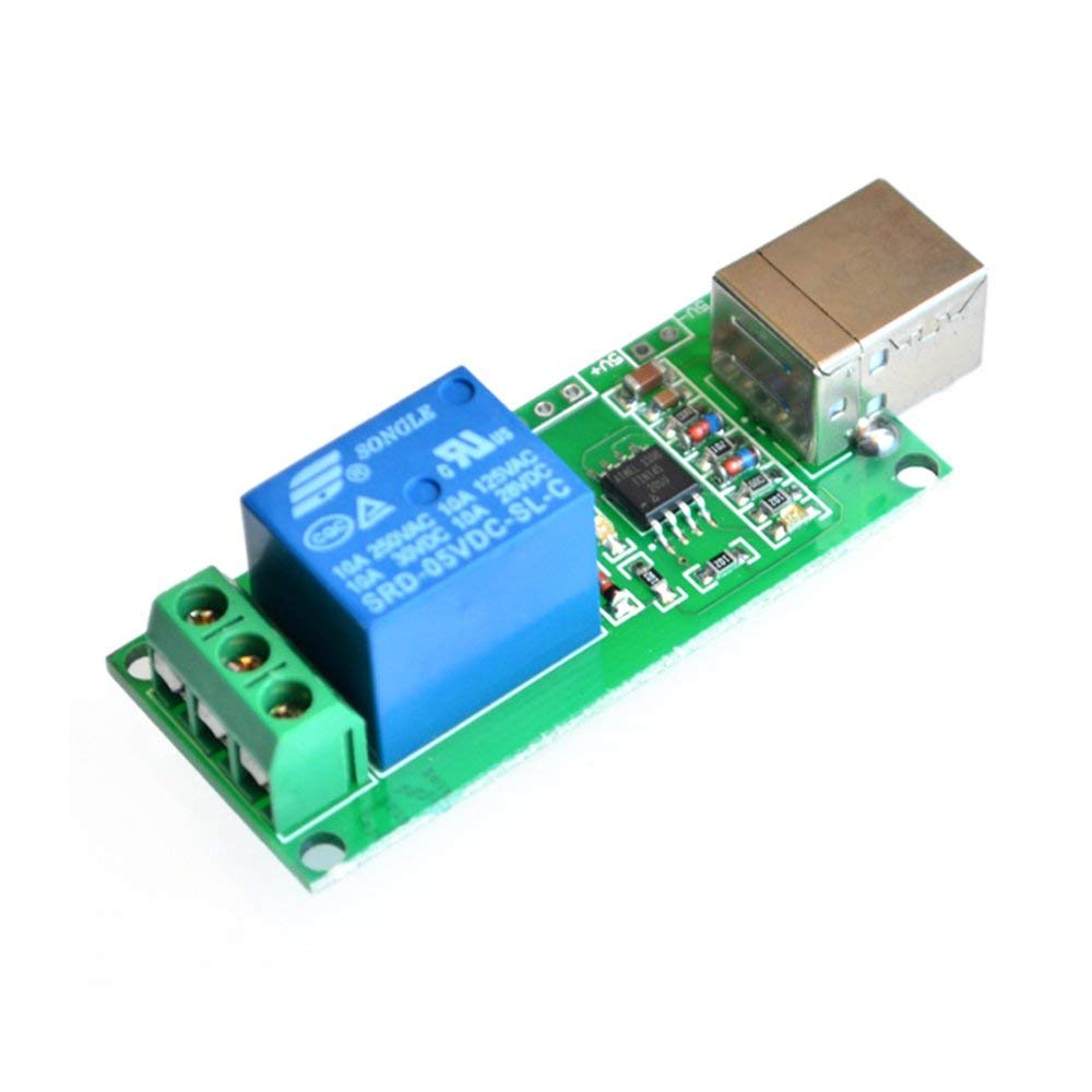 hight resolution of get quotations 5v usb relay 1 channel programmable computer control for smart home