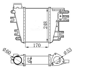 Intercooler For Nissan Patrol Gr Y61 3.0 2000-2010 14461