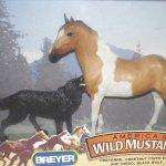 Buy Breyer Wild Mustangs Cheyenne Chestnut Pinto Mare Diego Black Wolf In Cheap Price On Alibaba Com