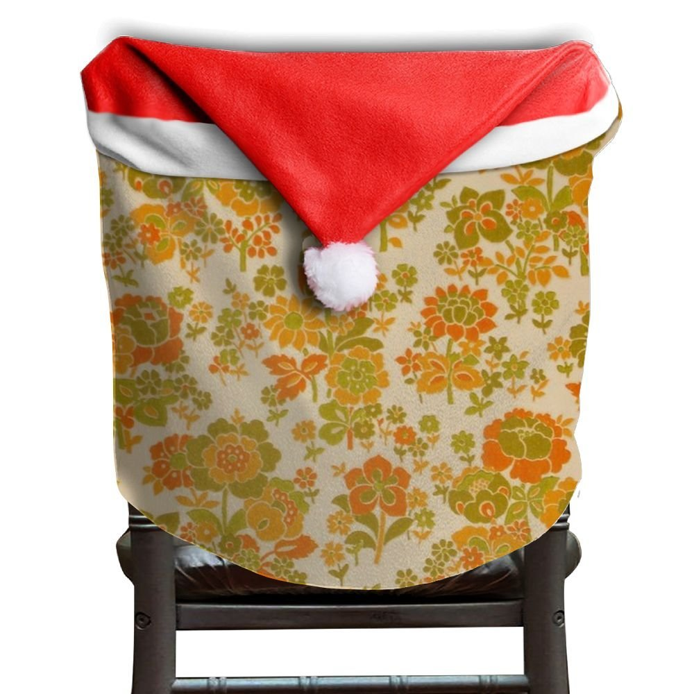 christmas chair covers white walmart lawn cheap flower decorations find deals foral for kitchen back