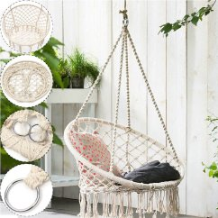 High Chair With Accessories Zero Gravity Gander Mountain Cheap Find Deals On Get Quotations Tfcfl Woven Hanging Cotton Rope Macrame Hammock Mesh Basket Swing Outdoor Garden