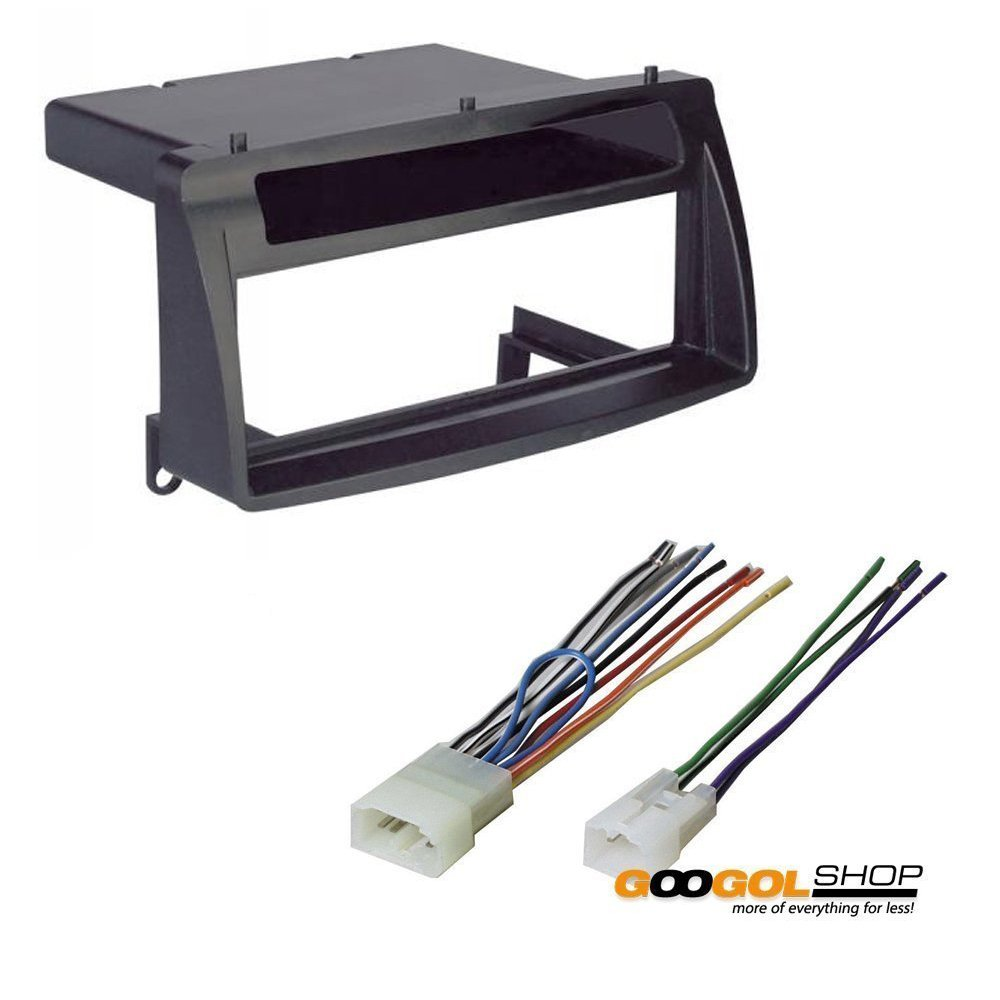 hight resolution of get quotations toyota corolla single din car stereo radio install dash mount kit wiring harness