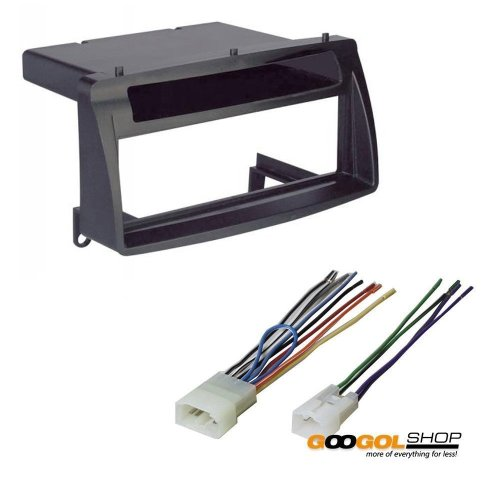 small resolution of get quotations toyota corolla single din car stereo radio install dash mount kit wiring harness