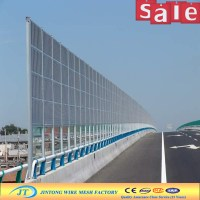 Perforated Construction Temporary Noise Barrier Fence