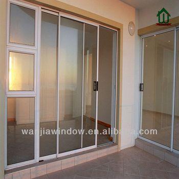 Exterior Stong Double Pane Sliding Glass Doors