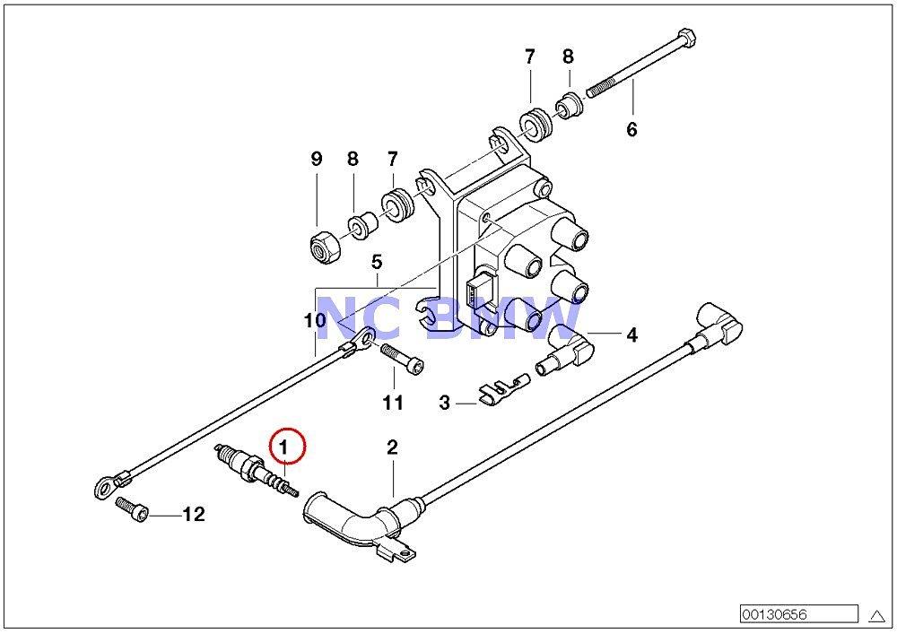 Buy BMW Genuine Motorcycle Ignition System Spark Plug 12