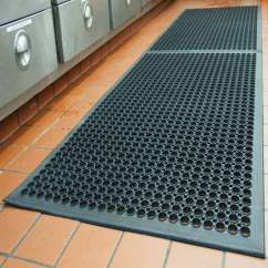 Kitchen Floor Rugs Gadgets Heavy Duty Water Drain Chef Bbq Grill Sink Rubber Mats Buy Product On Alibaba Com