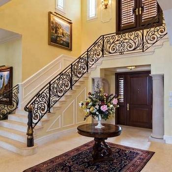 Antique Wrought Iron Railing Designs For Indoor Stairs Iron   Black Iron Railing Indoor   Iron Balusters   Railing Ideas   Staircase   Paint   Handrail Stairs