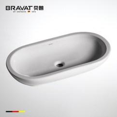 White Porcelain Kitchen Sink Pull Down Faucet Reviews Unique Single Bowl Above Counter C22185w