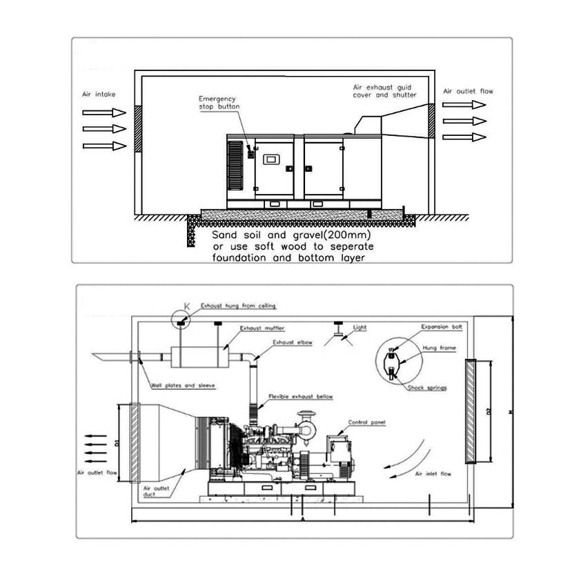 High Quality China Brand 30kw/38kva Welding Generator