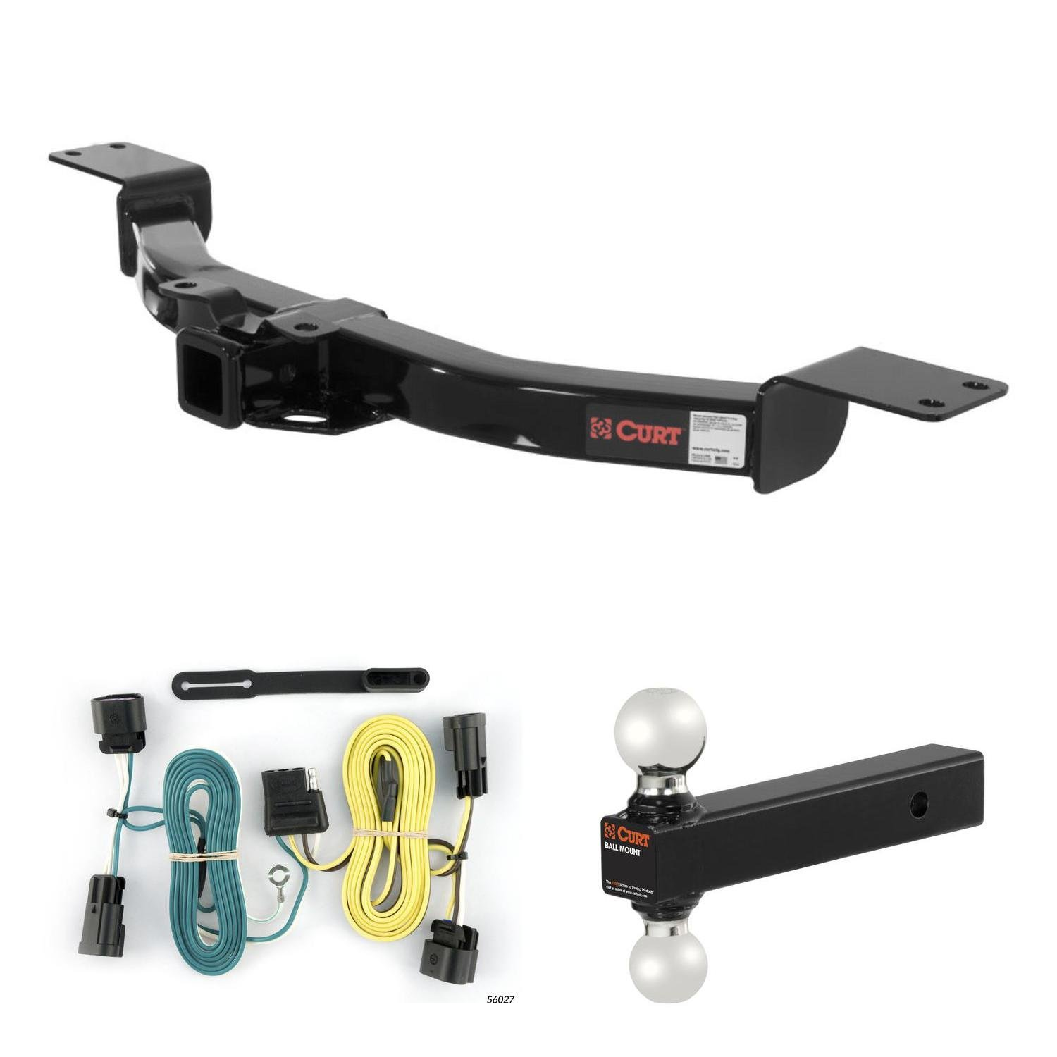 hight resolution of get quotations curt trailer hitch wiring ball mount for buick enclave chevy traverse