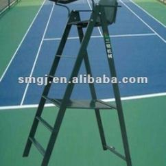 Folding Umpire Chair Cheap Vanity Chairs Tennis Court Referee S Foldable Steel