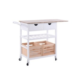 Kitchen Trolley Cart Cabinets Clearance China Factory Sale Wooden With Storage Basket Crate Wine Rack Buy Serving