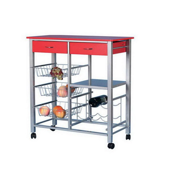 wire kitchen cart ebay red shelving trolley with basket buy product on alibaba com