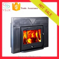 2016 New Design Cast Iron Ceramic Fireplace Insert - Buy ...