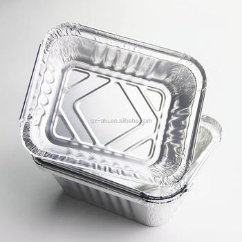 China Gold Manufacturer Food Take - Away Smoothwall Aluminium Foil Container / Baking - Buy Aluminum Foil Container Manufacturer.Food Take - Away ...