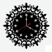 Custom Design 4mm Acrylic Wall Clock With Personalized ...