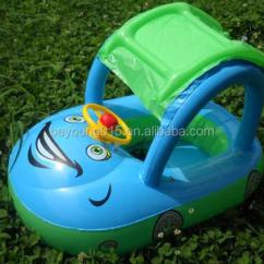 Baby Blow Up Ring Chair Graco Doll High Set Sunshade Child Kids Swim Float Seat Boat Inflatable Belt Water Pool