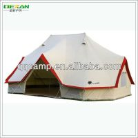 High Waterproof 100% Heavy Duty Canvas Tent For Family ...
