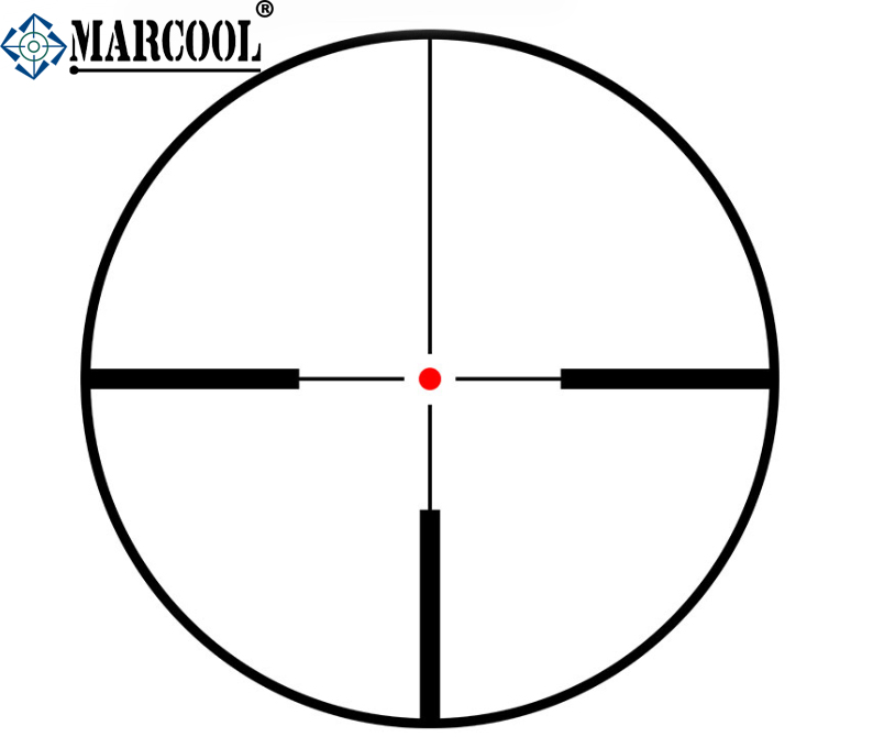 Lunette made in china marcool 1-6x24 rifle scopes pour