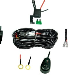 get quotations cutequeen wiring harness kit 40 amp relay on off switch for off [ 1500 x 1281 Pixel ]