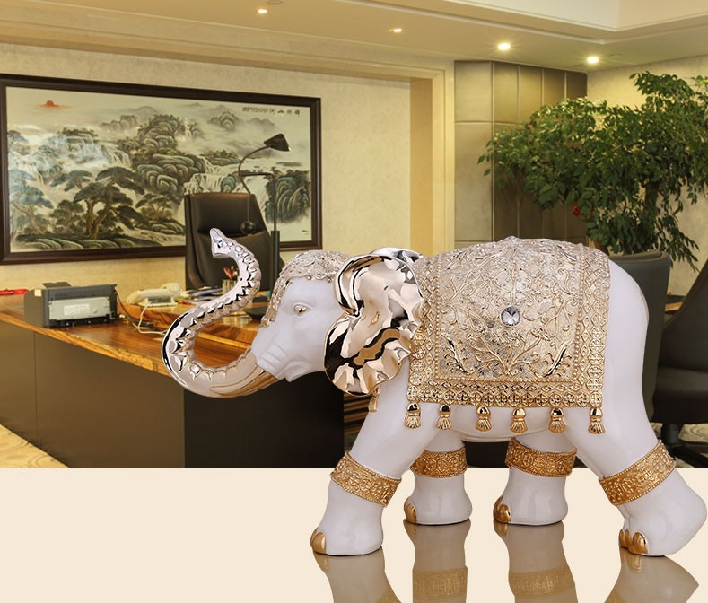 2016 Hot Sale Indoor Home Decor Large Size Elephant Statue With