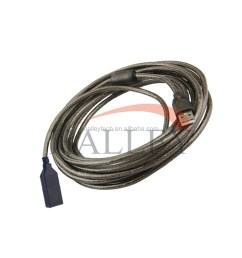 30m male to female usb 2 0 camera printer hub extension cable [ 1000 x 1000 Pixel ]
