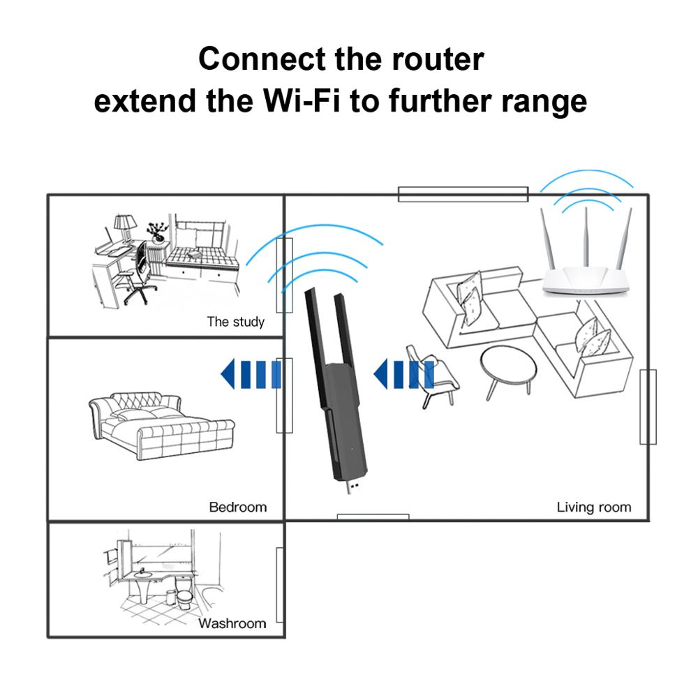 300mbps High Speed Wifi Range Extender Wifi Repeater 2