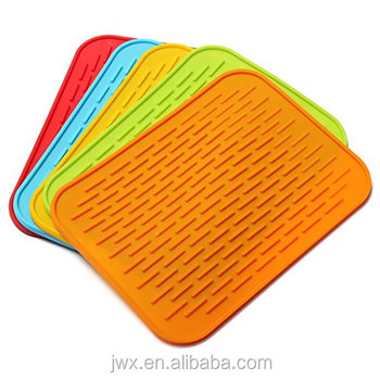 kitchen sink mats tall cabinet protectors silicone drying mat dishes rubber buy