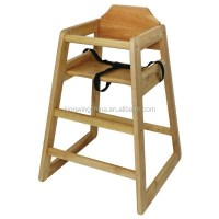 Stackable Wooden Baby Feeding High Chair / Baby High Chair ...