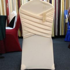 Champagne Banquet Chair Covers Recliner For Child New Design Spandex Wedding Cover Cross Back