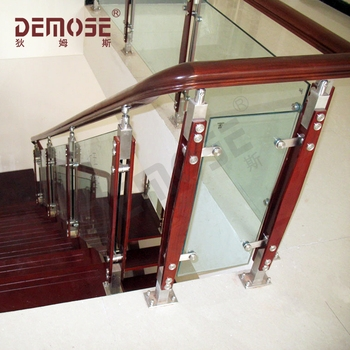 Carving Bamboo Wooden And Glass Stair Railing Buy Carving   Wooden Staircase With Glass   Oak   Glass Design Golden   Tempered Glass   Unusual Interior   Detail
