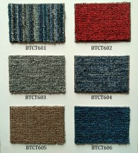 Strong Durable Rubber Backed Shaggy Carpet Tiles - Buy ...