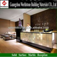 Spa Led Reception Front Desk/table/counter - Buy Spa ...
