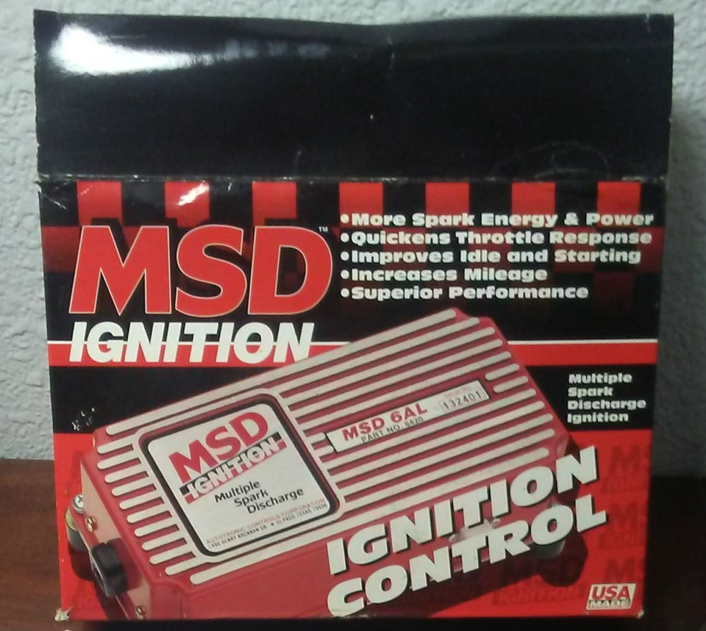 medium resolution of get quotations msd 6200 6 series ignition systems