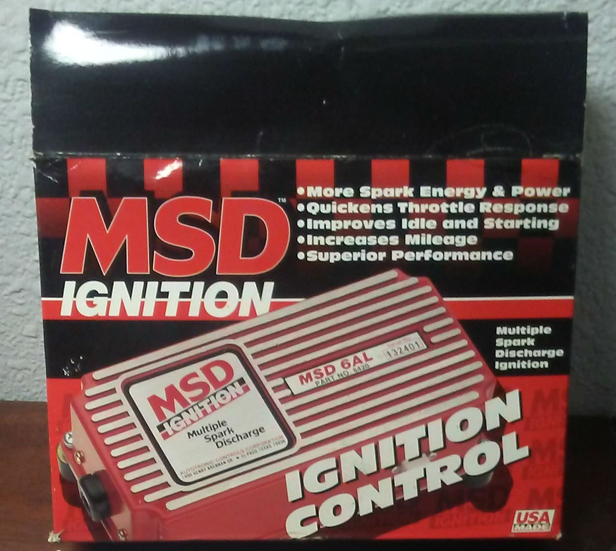 hight resolution of get quotations msd 6200 6 series ignition systems