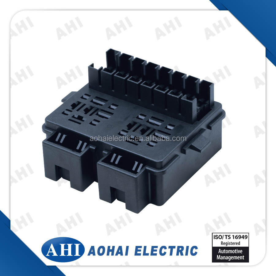 medium resolution of  pp1219003 black plastic pa66 auto electrical connector fuse box
