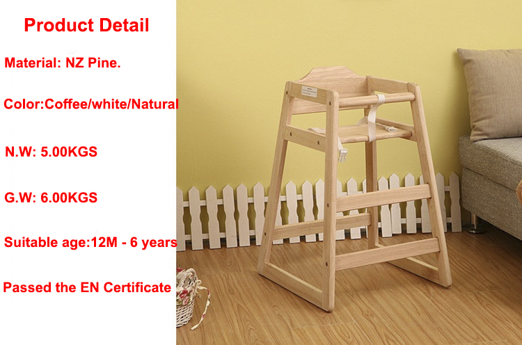 wooden high chair nz for 2 year old 2016 quality dinning baby kids and adults furniture