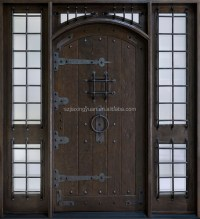 Lowes Exterior Double Open Solid Wood Door