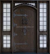 Lowes Exterior Double Open Solid Wood Door - Buy Double ...