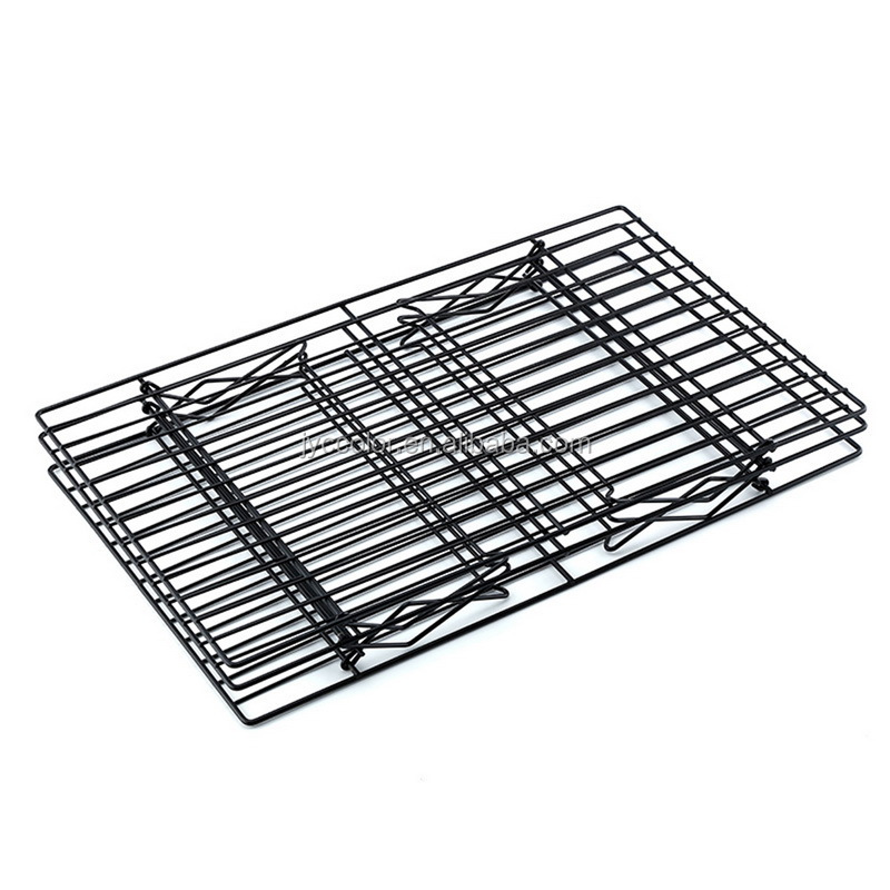 Non-stick Cooling Rack,Hote 3 Tier Stackable Cooling Rack