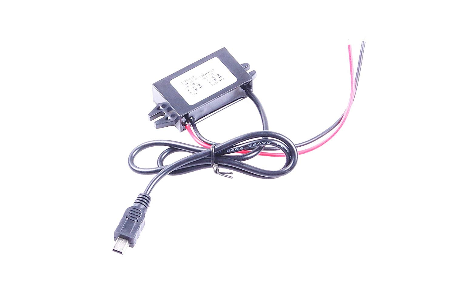 hight resolution of get quotations knacro dc dc 12v to 5v 3a step down power supply module car power