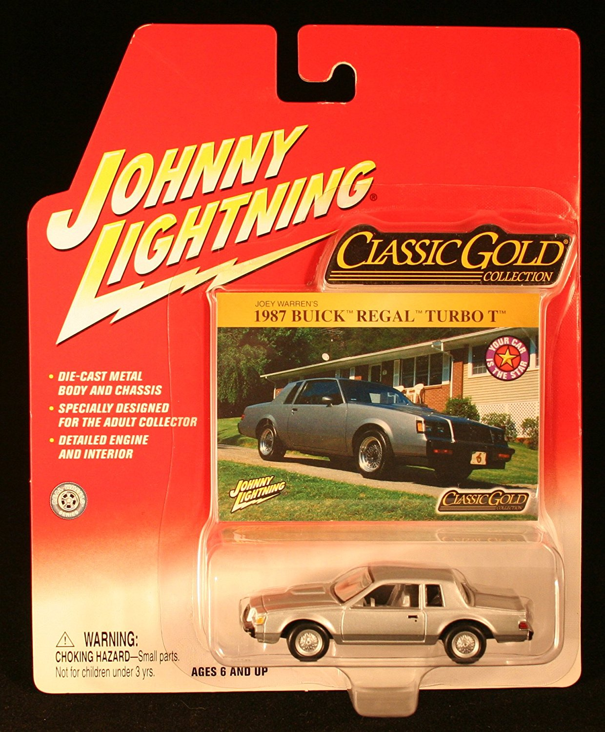 hight resolution of johnny lightning classic gold collection 1987 buick regal turbo t