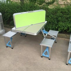 Folding Chair Picnic Table Hans Wegner Halyard 4 Seat Suppliers And Manufacturers At Alibaba Com