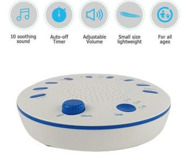 Babys Timing Music Sleep Aid Device White Noise Machine Sound Machine Music Player Help Baby Sleeping