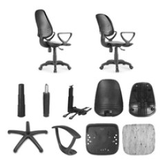 Revolving Chair Spare Parts Hanging Edmonton Office Suppliers And Manufacturers At Alibaba Com