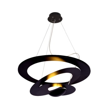 hanging pendant light living room chairs for small spaces md2465bk indoor decorative modern led lamp black finish decor lighting