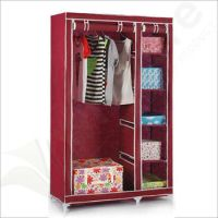 Portable Non-woven Fabric Wardrobe Cloghtes Storage ...